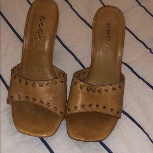 Vintage bebe heels